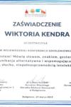 Certyfikat WK 1