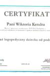 Certyfikat WK 4